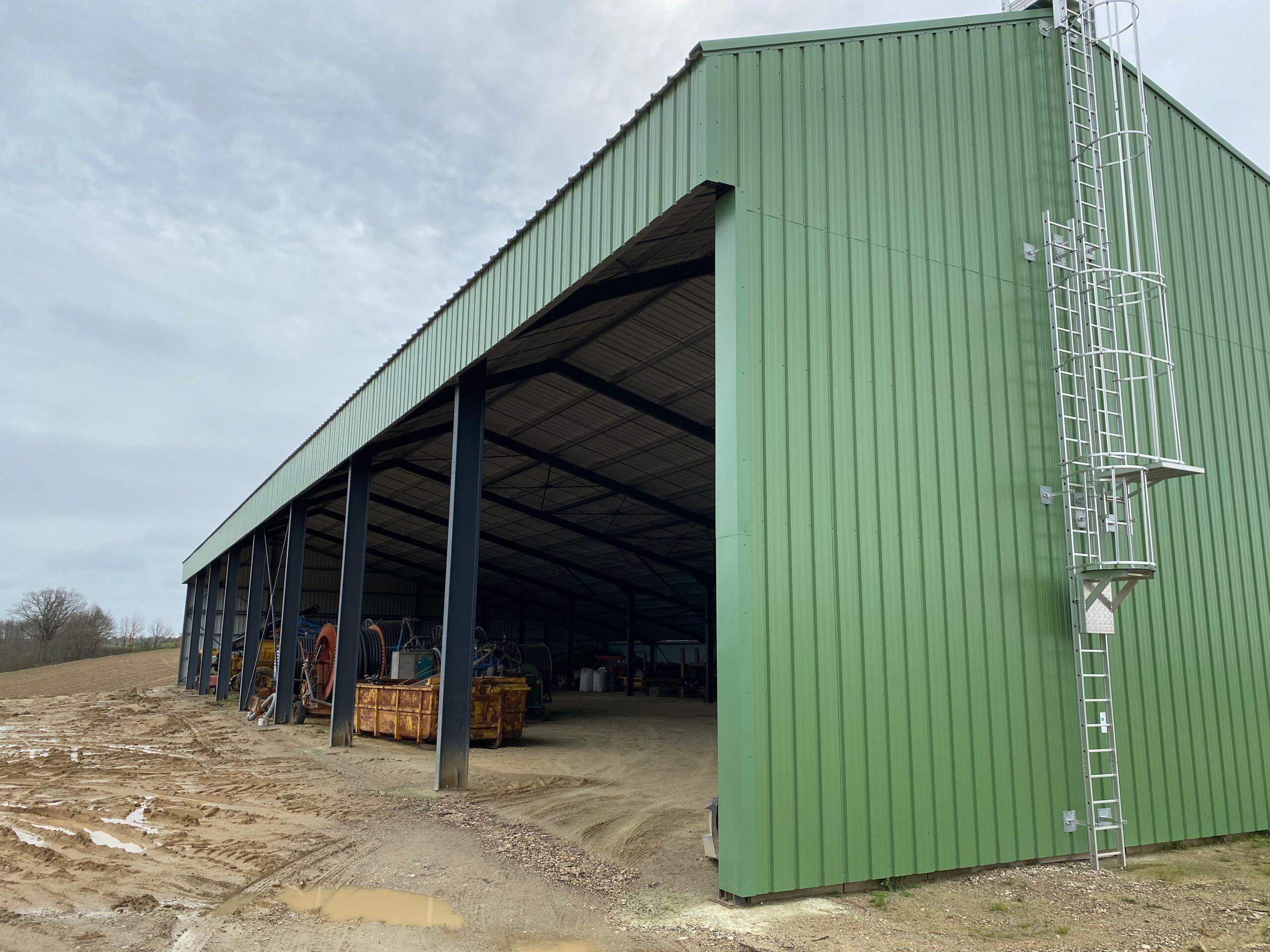 Hangars photovoltaïques