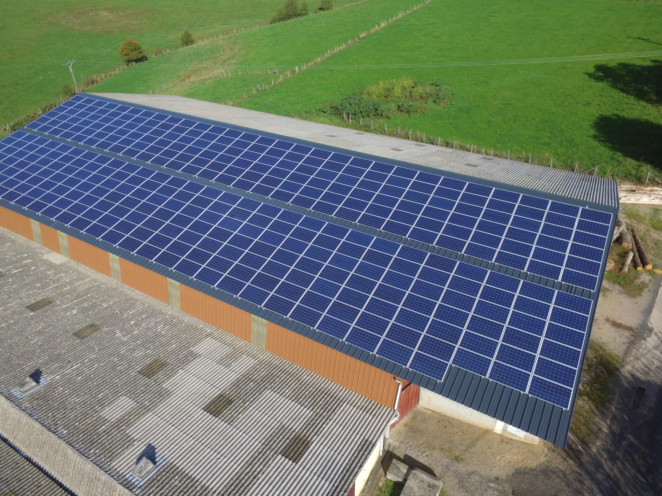Centrales photovoltaïques en autoconsommation